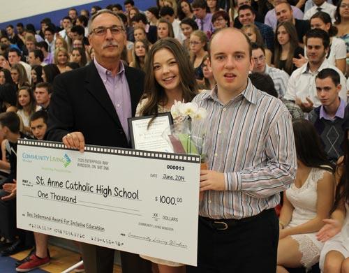 St. Anne High School Award Recipient